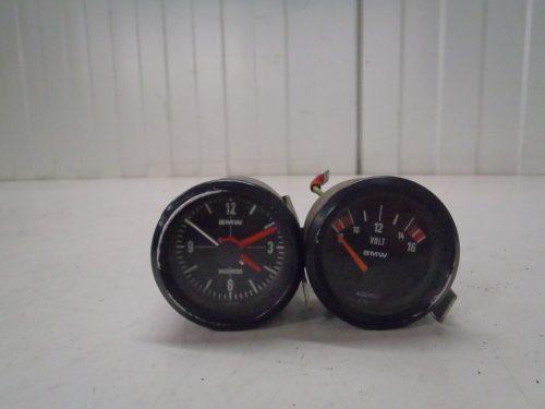 klokje en voltmeter BMW R 90 S
